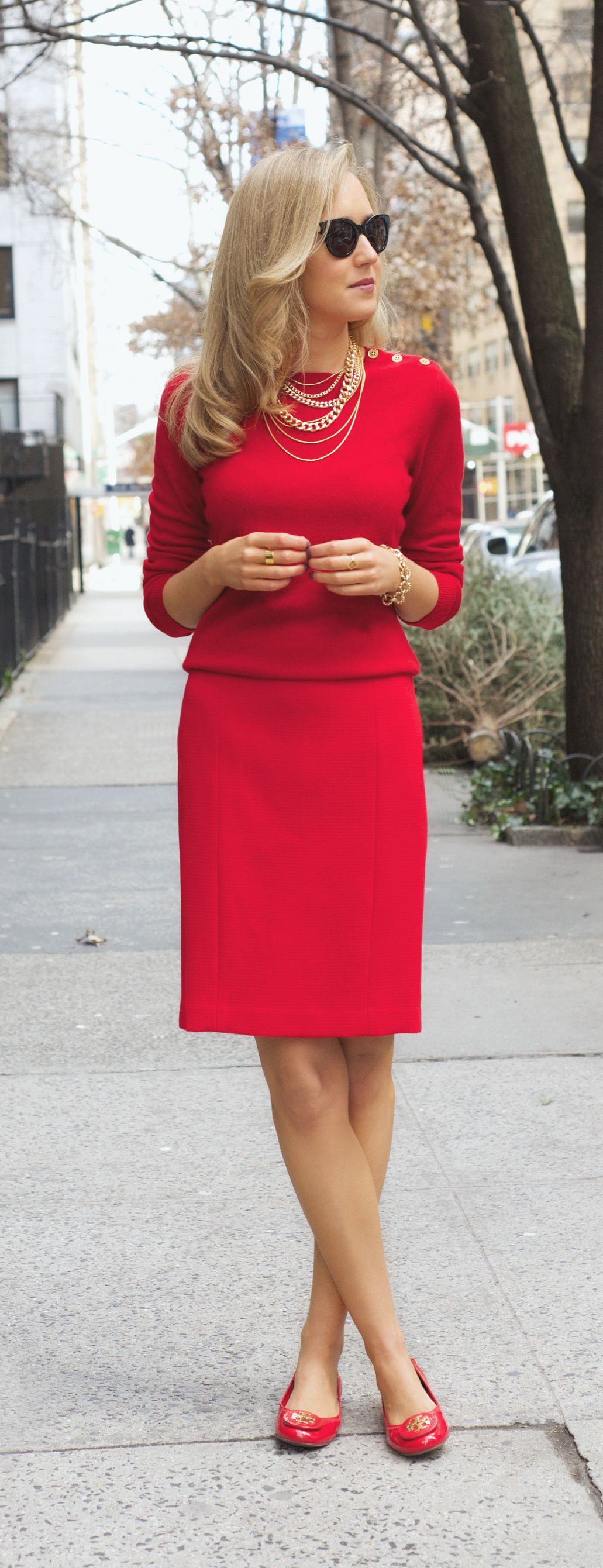 The Classy Cubicle: Seeing Red | Workplace fashion, Style ...