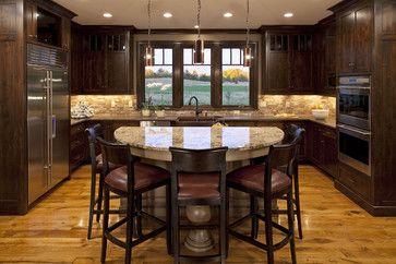 Semi Circle Kitchen Islands Half Design Ideas