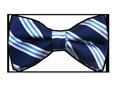 Bar Stripes Navy Bow Tie Bowtie Bar Stripes Navy Bow Ties Mens Bow Ties Blue Bow Tie Clip On Bow Ties