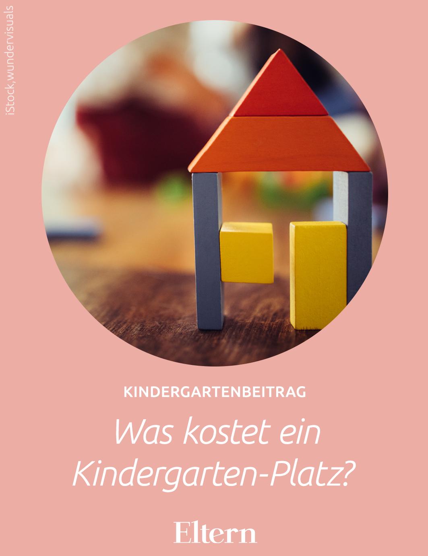 Kindergartenbeitrag Was kostet ein KitaPlatz? in 2020