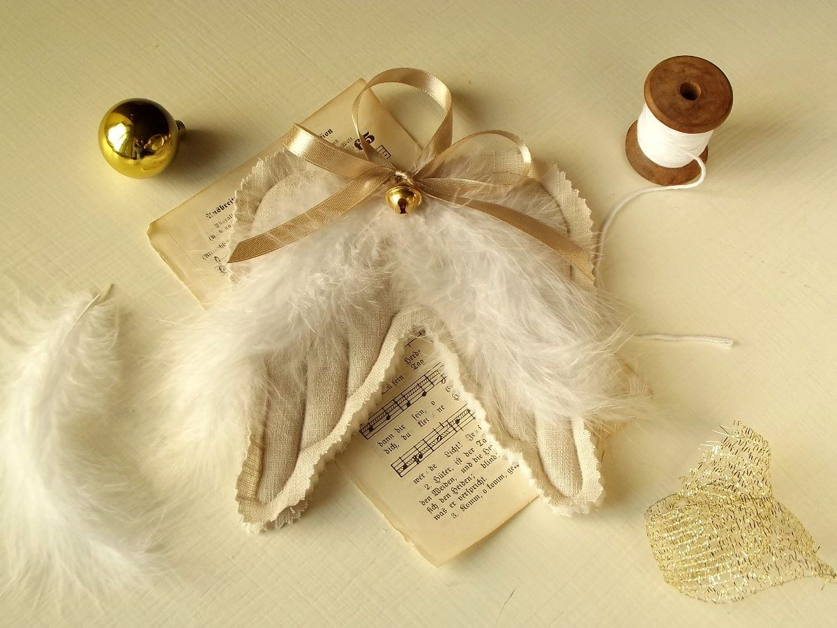Angel wings ornamet | Angels | Pinterest | Angel wings and Craft