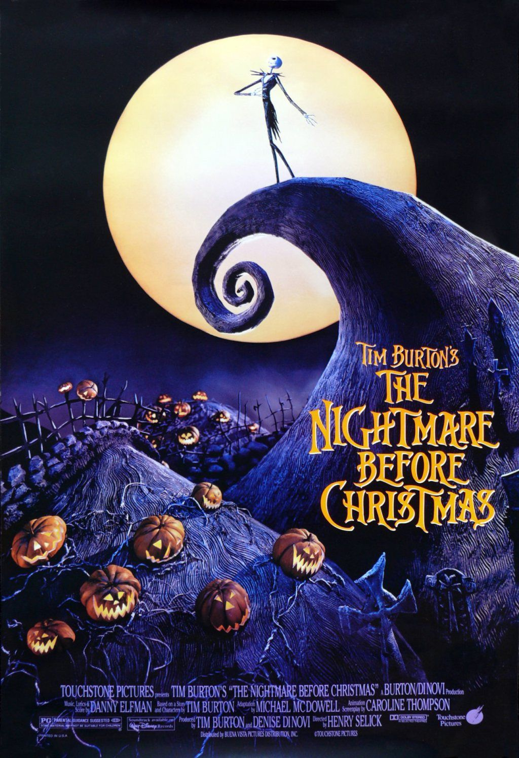 Script for The Nightmare Before Christmas | Film Scripts | Pinterest ...