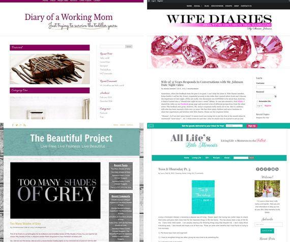 Custom Blog Design and Install | Custom Blog Template | WordPress ...