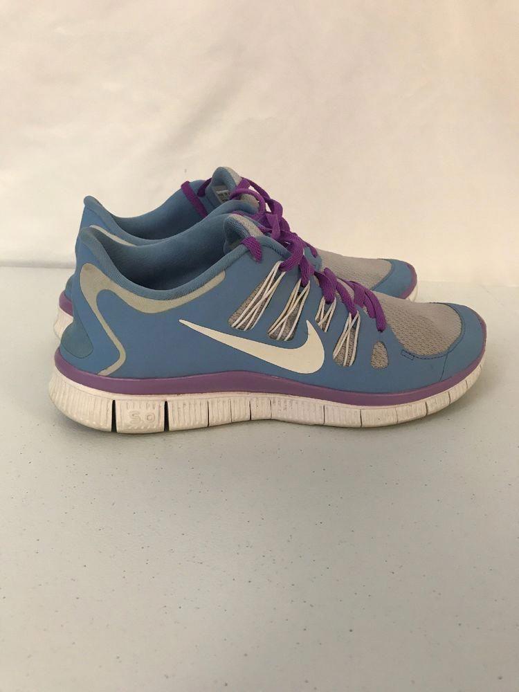 f625be3c5ac Womens Size 8 Nike Free Run iD Purple White Blue 588596-991 Free  fashion   clothing  shoes  accessories  womensshoes  athleticshoes (ebay link)   ...