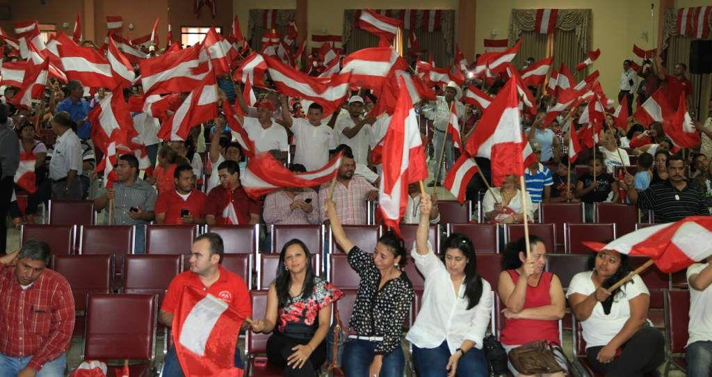 La unidad se extenderá por todos los municipios, dice Mauricio Villeda en asamblea  El evento en el Colegio de Ingenieros estuvo concurrido.