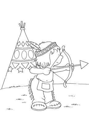 indians coloring pages | indianer, ausmalbilder, wenn du mal buch