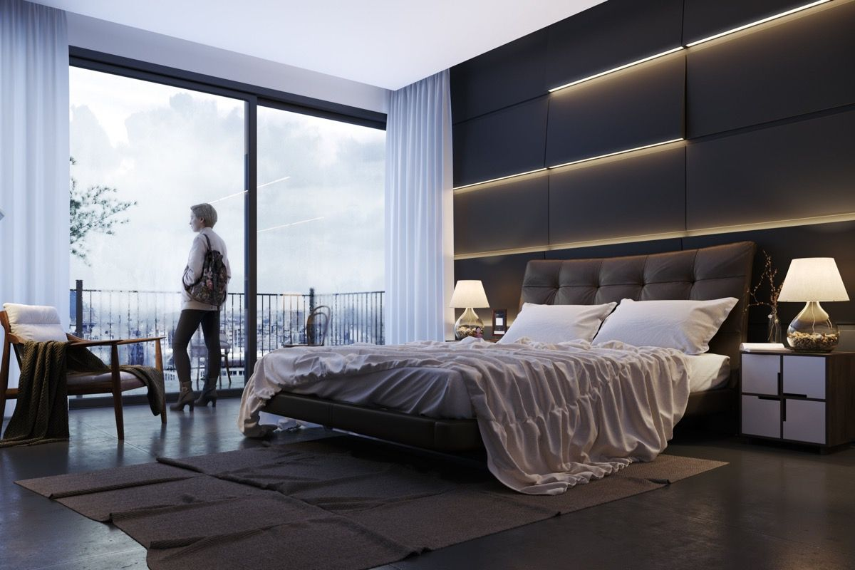 9 Awesome Accent Wall Ideas For Your Bedroom  Feature wall