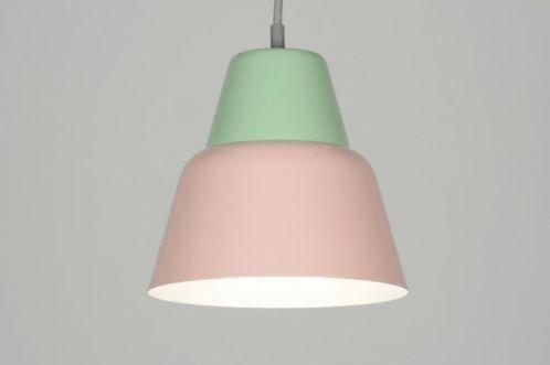 Roze Slaapkamer Lamp : Roze mint groen moderne hanglamp v slaapkamer rietveld sliedrecht