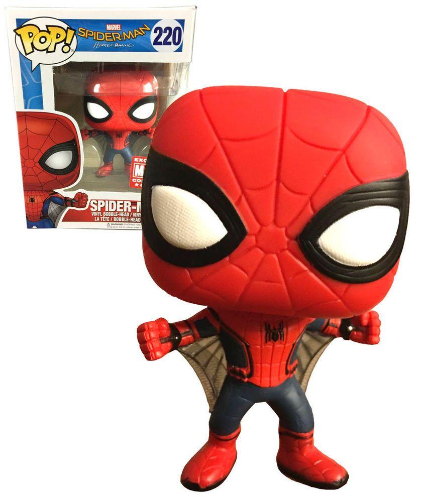 FUNKO POP Spider-Man Home Coming 259 Action Figure Nuovo Da Collezione Limited