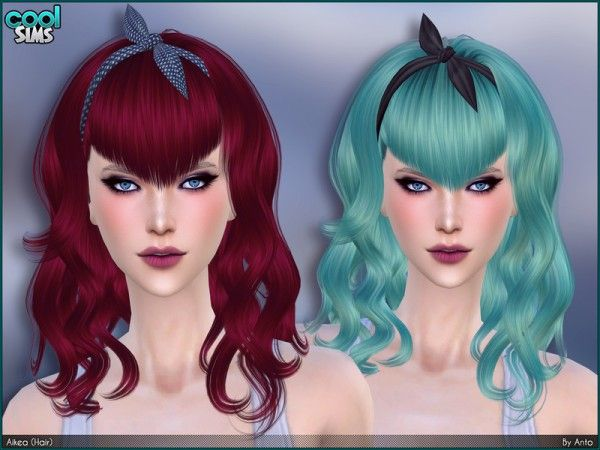 New Hairstyle Quest Sims Freeplay : The sims resource: anto aikea hair u2022 4 downloads sims4