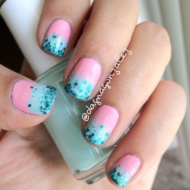 I used opi pink Friday essie mint candy apple and lynnderella thank ...