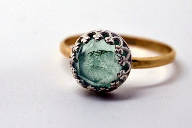 25 Unconventional + Affordable Engagement Rings #cocktails