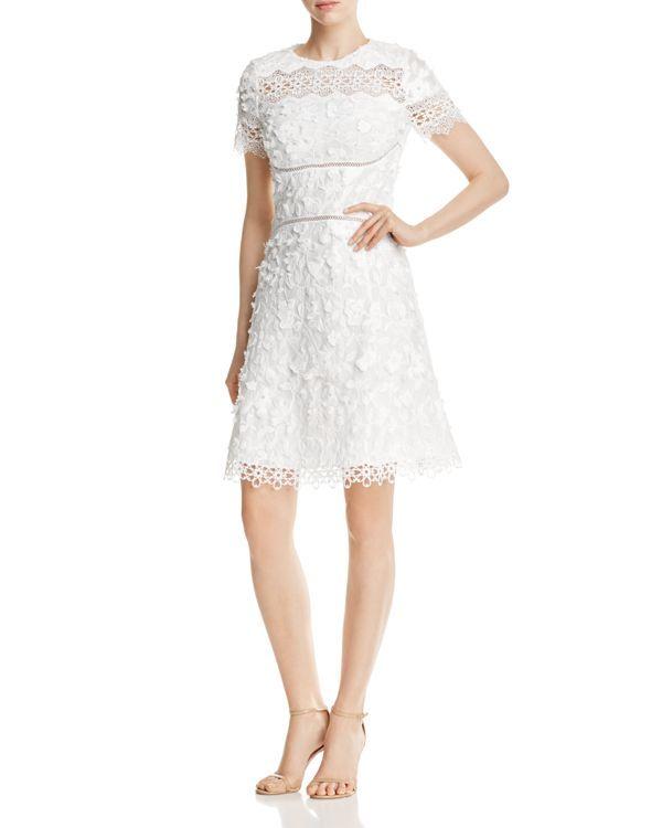 bcb446e797ea Elie Tahari Adina Floral Applique Dress | Products | Pinterest ...