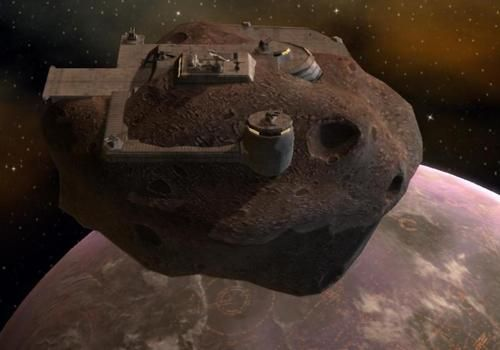 Asteroid base | Star wars materials moons and mines ...