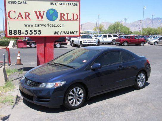 Coupe 2009 Honda Civic EX With 2 Door In Tucson AZ 85705