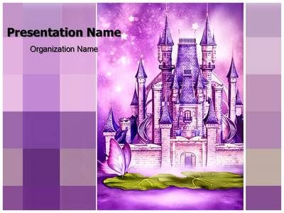 Fairytale Castle Powerpoint Template Is One Of The Best Powerpoint
