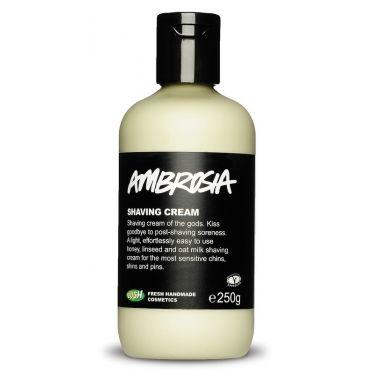 Ambrosia Shaving Cream - love this stuff.
