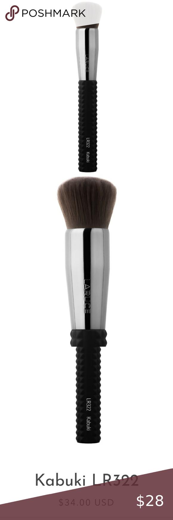 NWT Laruce Black Studded Kabuki Brush in 2020 Kabuki