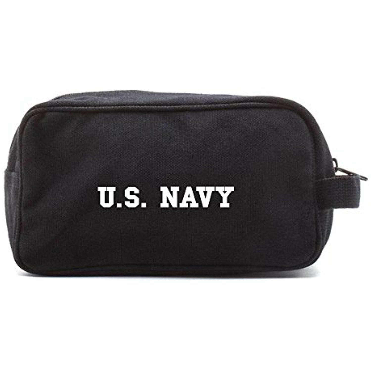 05f436f1ac US NAVY Text Canvas Shower Kit Travel Toiletry Bag Case     You can find  more details by visiting the image link. (This is an affiliate link)   ...