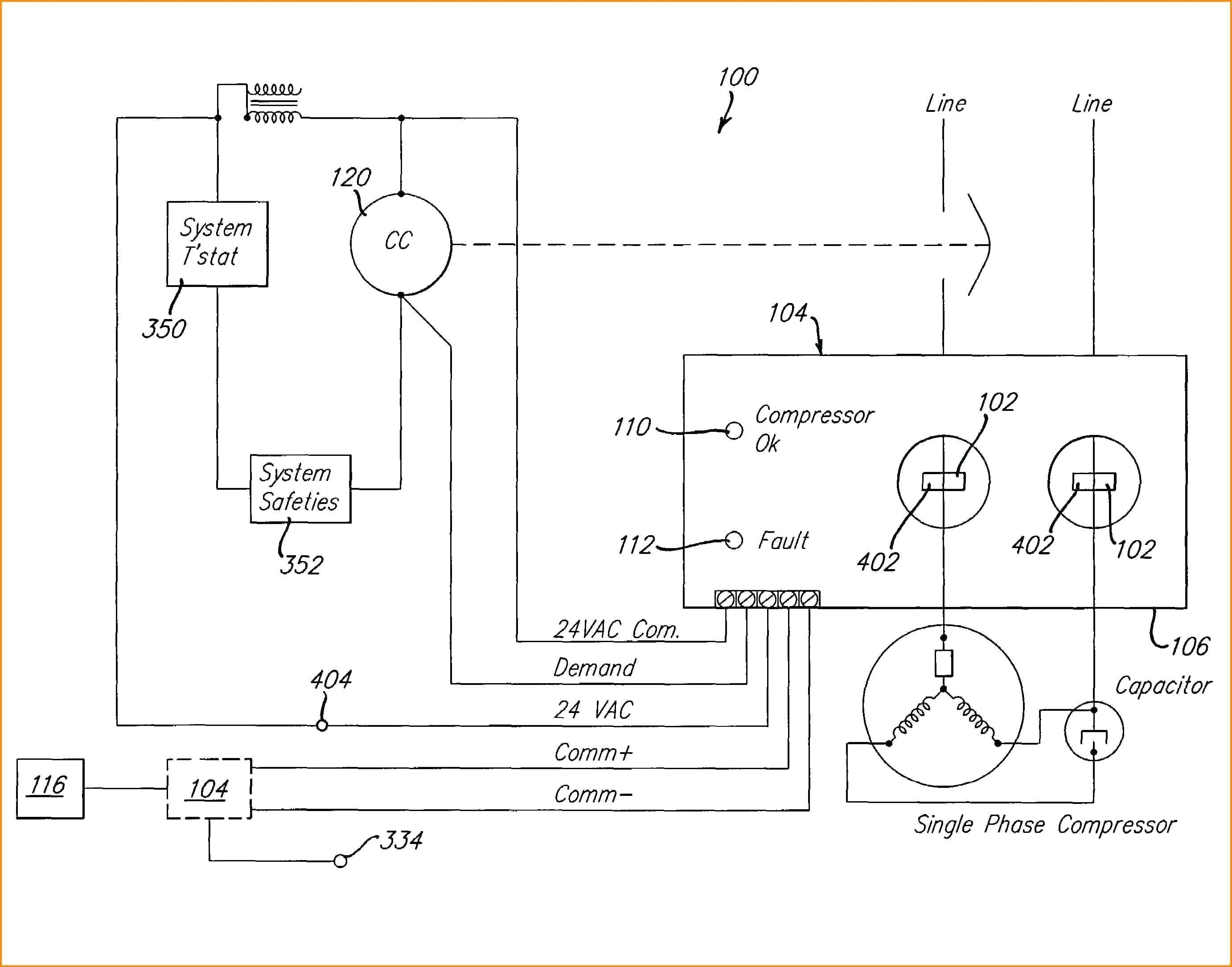 Air Conditioning 3 Phase Ac Compressor Wiring Diagram