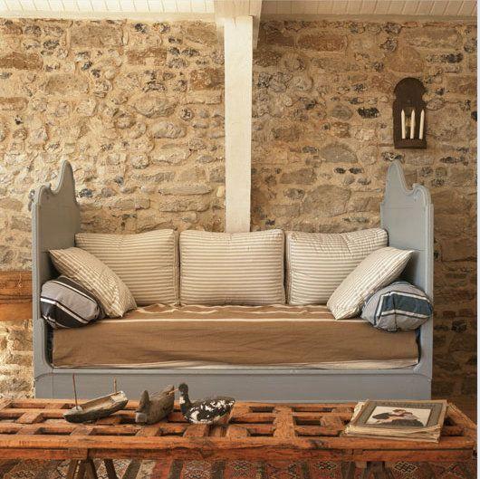 Un Loft Bleu Et Doux Planete Deco A Homes World Maison Style Decoration Maison Maison D Hotes