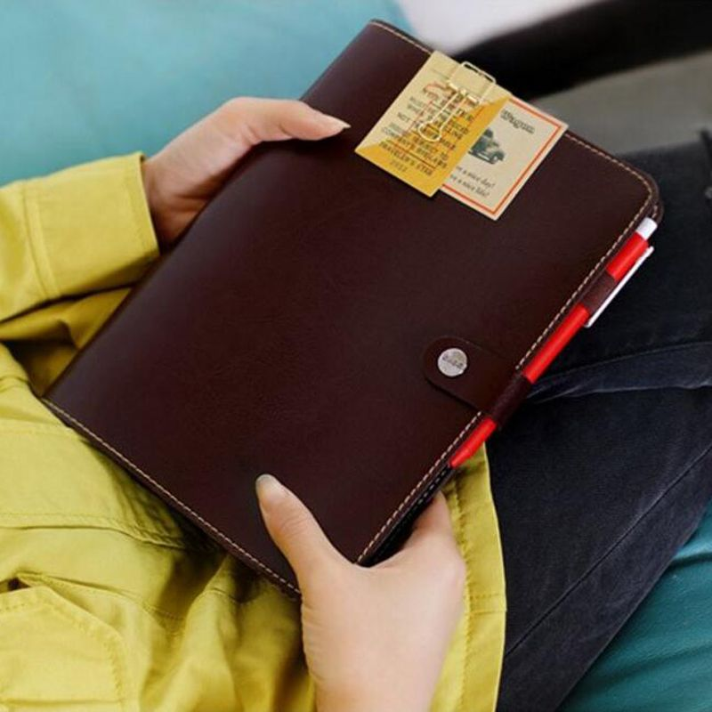 Best Price Waterproof Leather Personal Organizer Diary