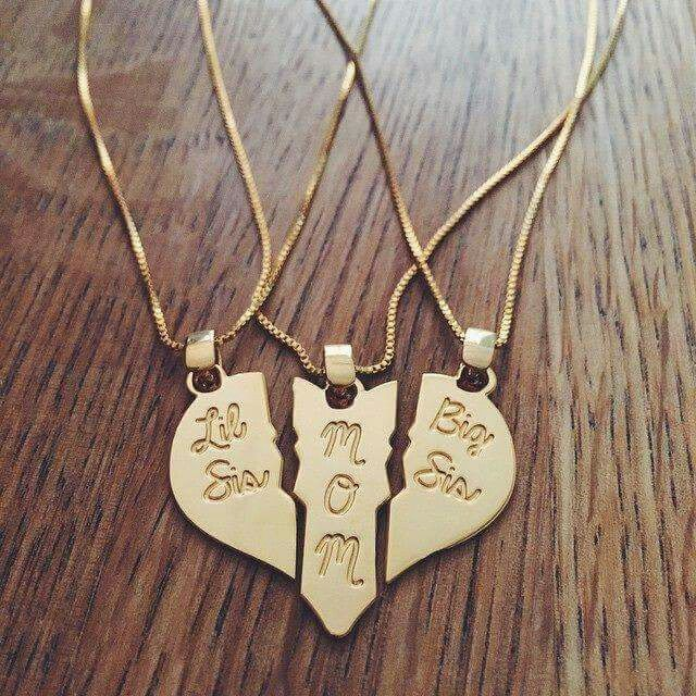 The trio of hearts necklace @GottaLoveDesss