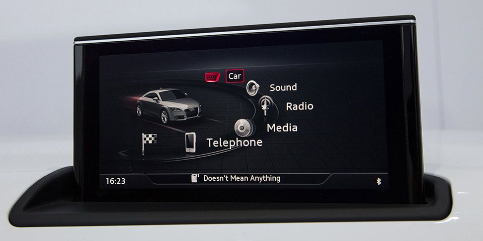 CES 2014: Operation and Display, Audi MMI check link | Vehicle UI