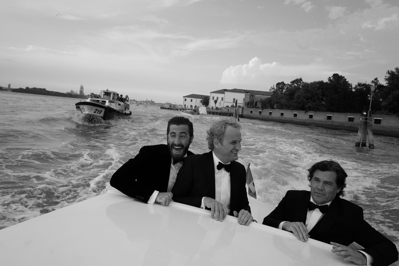 Venice is on! Jake Gyllenhaal, Jason Clark, and Josh