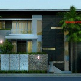 Rumah Mewah Minimalis 3 Lantai Hook Y Indonesia Modern