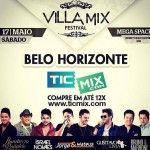 Belo Horizonte Recebe a 2ª edição do Villa Mix Festival.