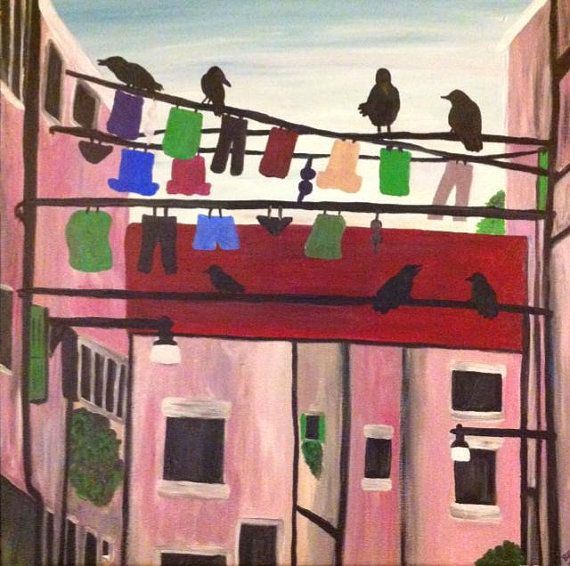 Crow Village by BrionnaBrouhard on Etsy