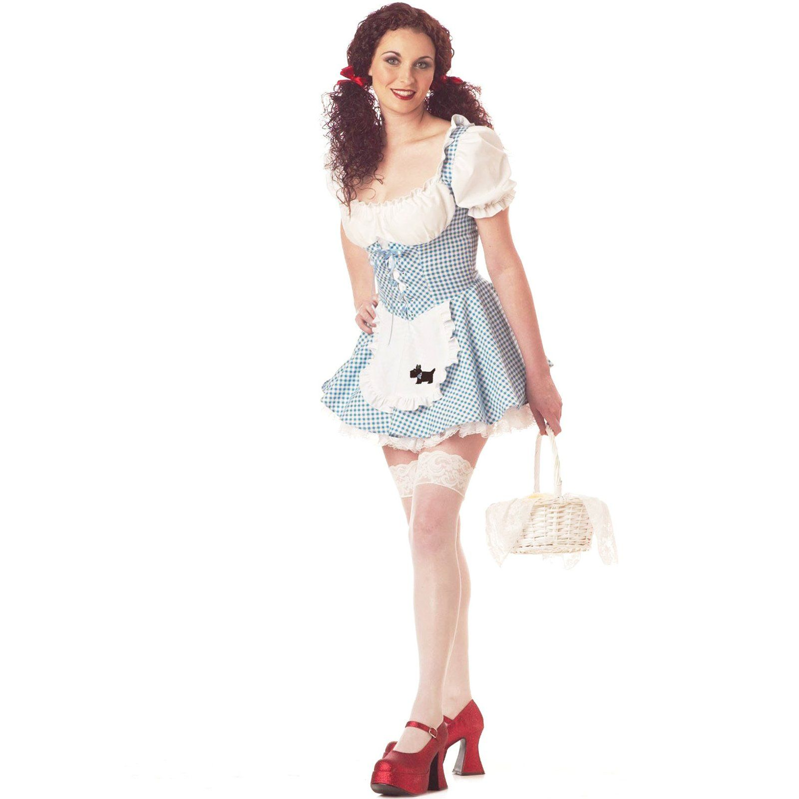 Miss Dorothy Adult Costume - Small - Adult Costumes  sc 1 st  Pinterest & Wizard of Oz Dorothy Adult Costume | Halloween costumes and Costumes