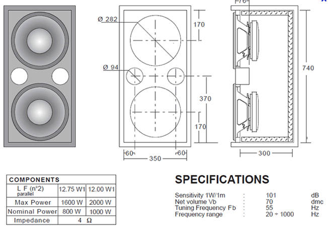 2 X 8 1 Mid Hi Speaker Plans Speaker Plans Speaker Box Design Speaker Box