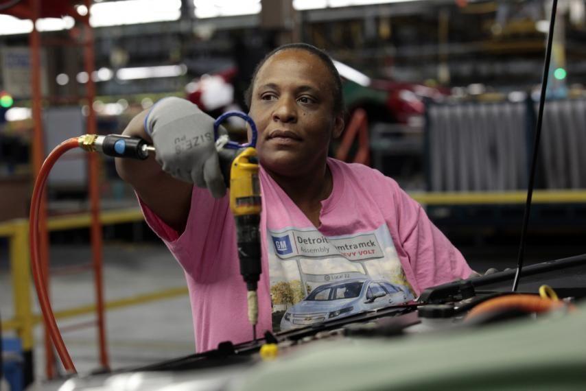 Chevrolet volt worker workers union