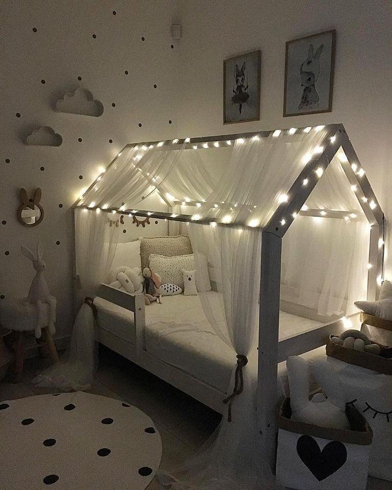Photo of KINDERBETTHAUS Kinderhausbett weiß gestrichen. Fot – Blog