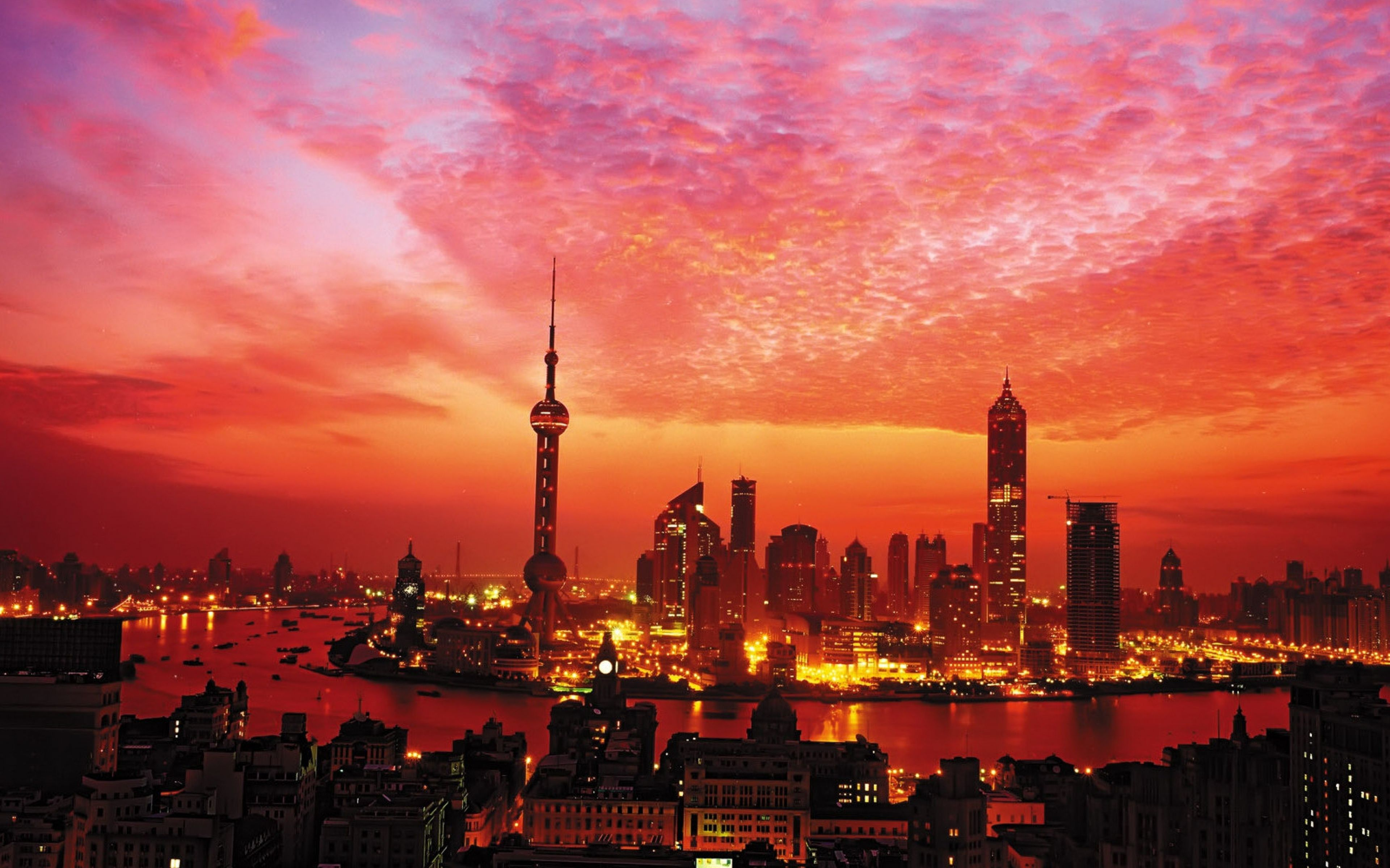 City Sunset Wallpaper Android with HD Wallpaper Resolution 3840x2400 px 2.25 MB | FROGO.COM.NG ...