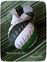Dekorácie - Vianočná guľa Twist 1 - 4560690_