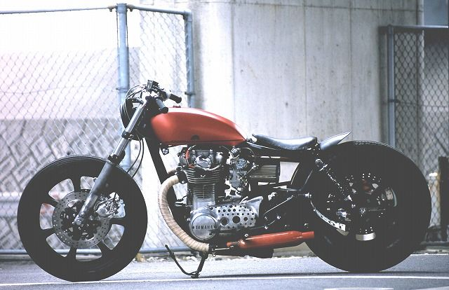 Brat-Style XS650  This one looks good because the rear end doesn't