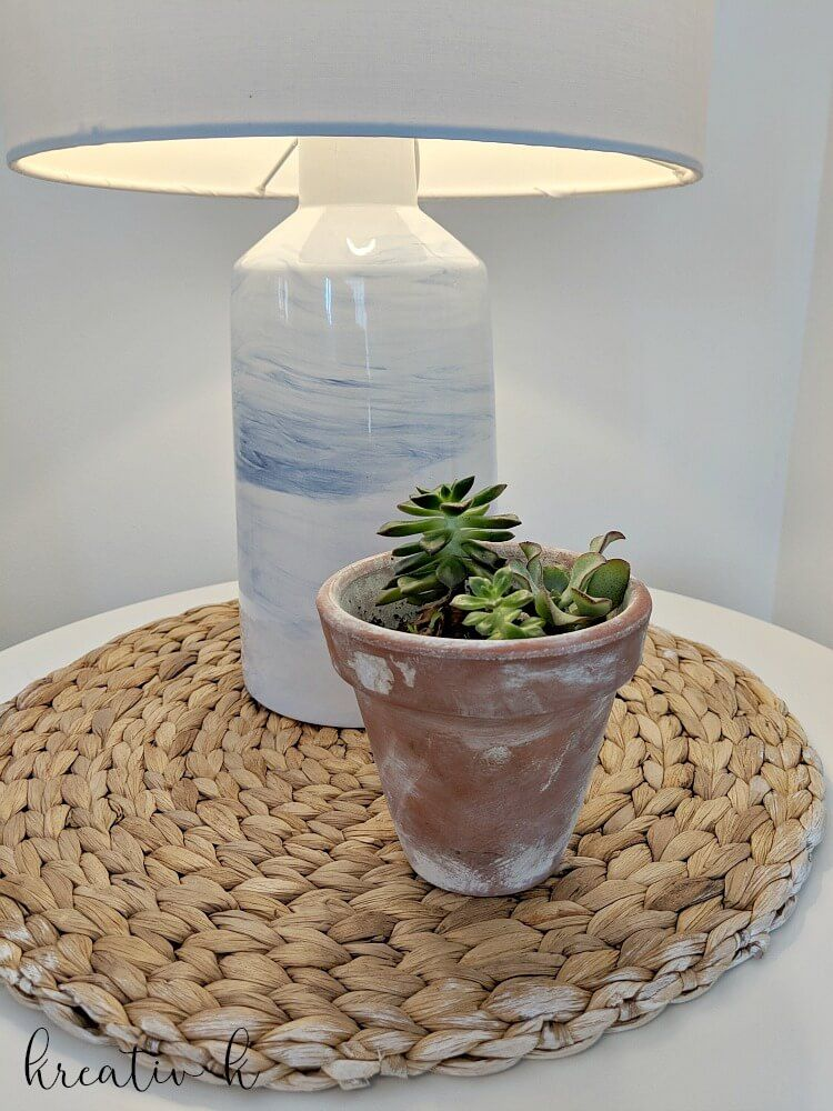 How To Make A Lamp Out Of A Vase Rattan Room Ideas And Room