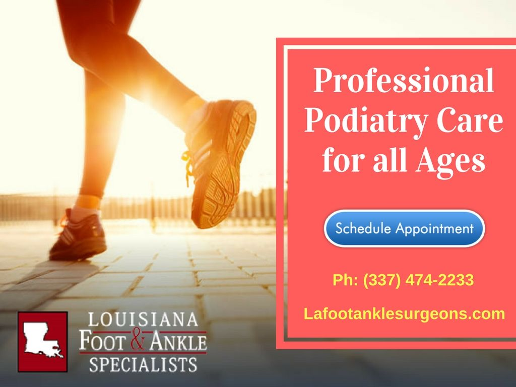 Best podiatry services in lake charles treatment plan