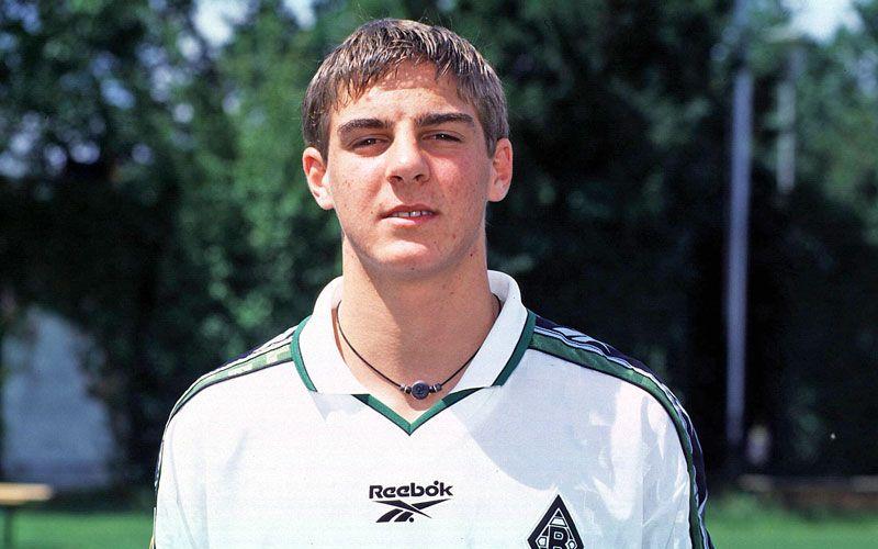 Sebastian Deisler Gladbach 1995 Bis 1999 Borussia Monchengladbach Fussball Bundesliga Lothar Matthaus
