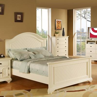 Fresh White Bedroom Set Queen Concept