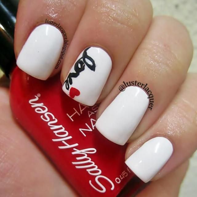 50 Pretty And Classy Valentines Day Nails Ideas Classy 50th And Craft
