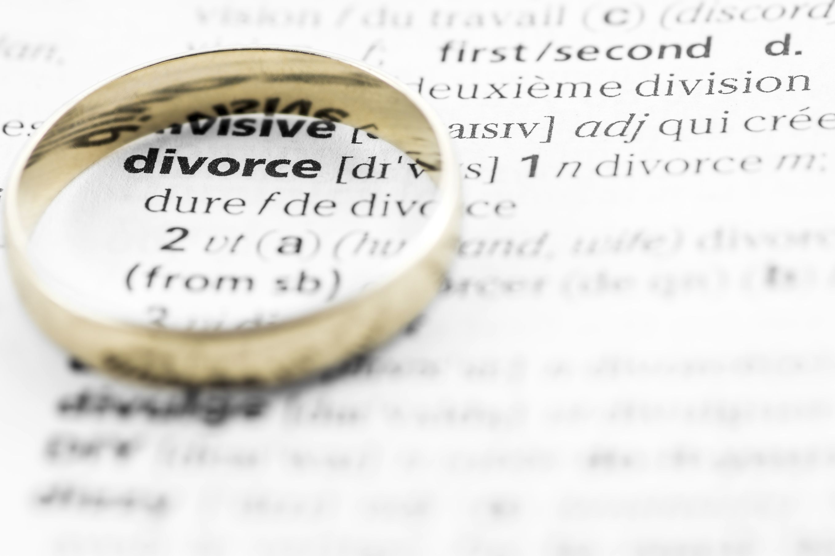 Dating someone in divorce process