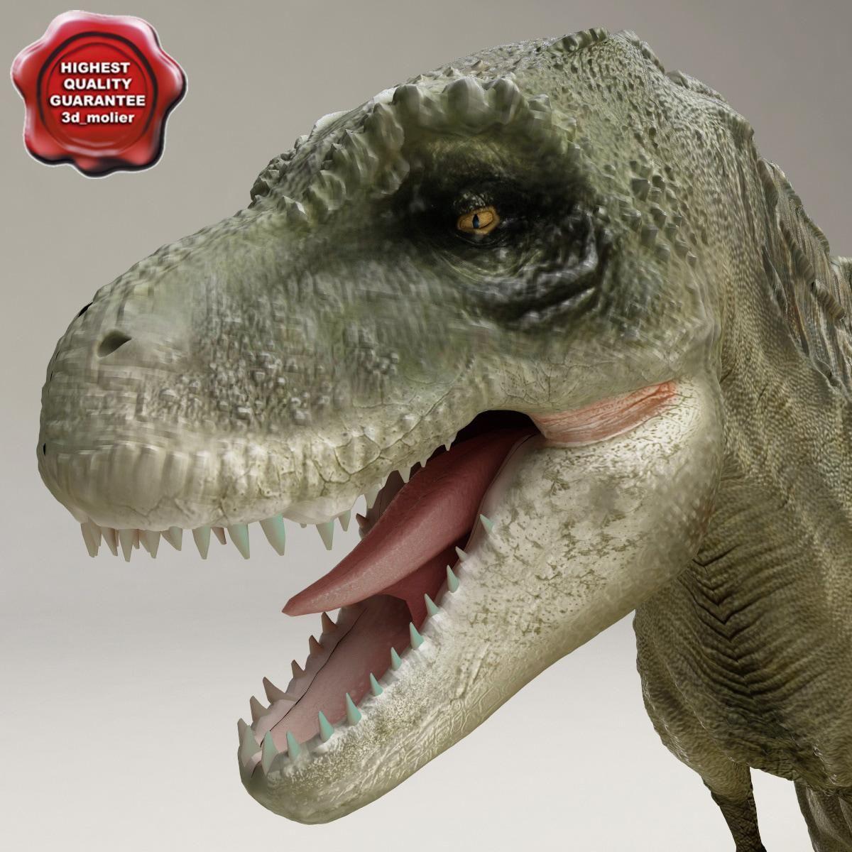Dinosaur TRex 3D Model AD ,DinosaurRexModel