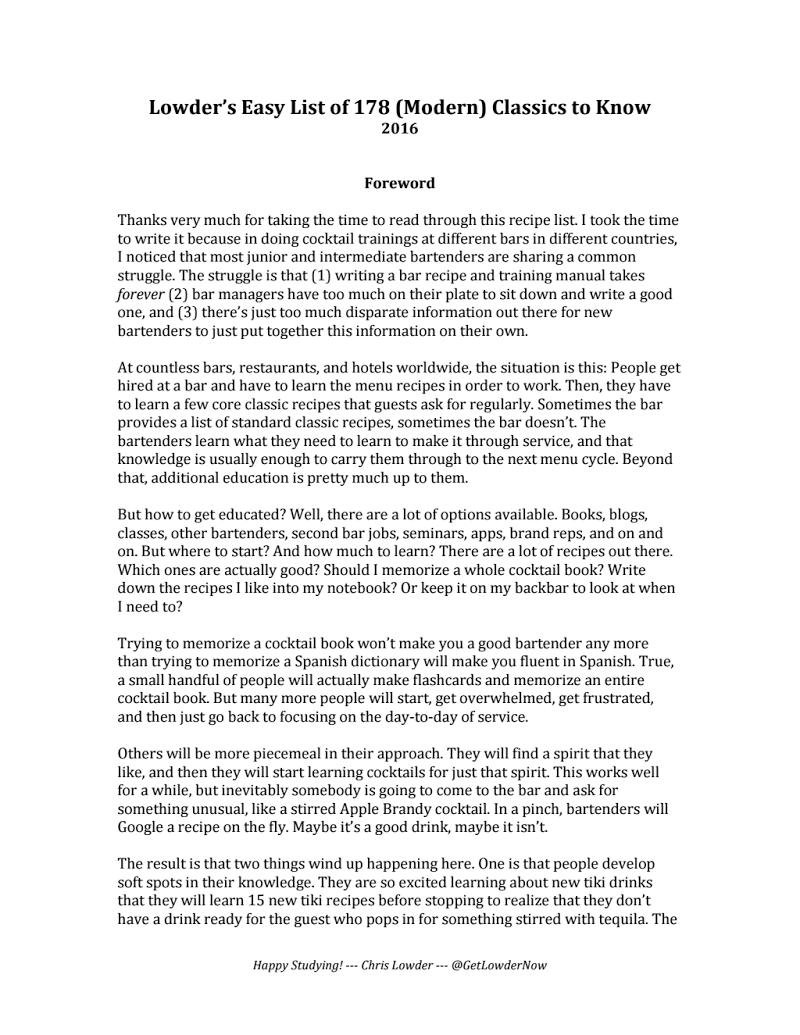 Lowder Classic Recipe Training Manual (11.22.2016).pdf Recipes, Manual,