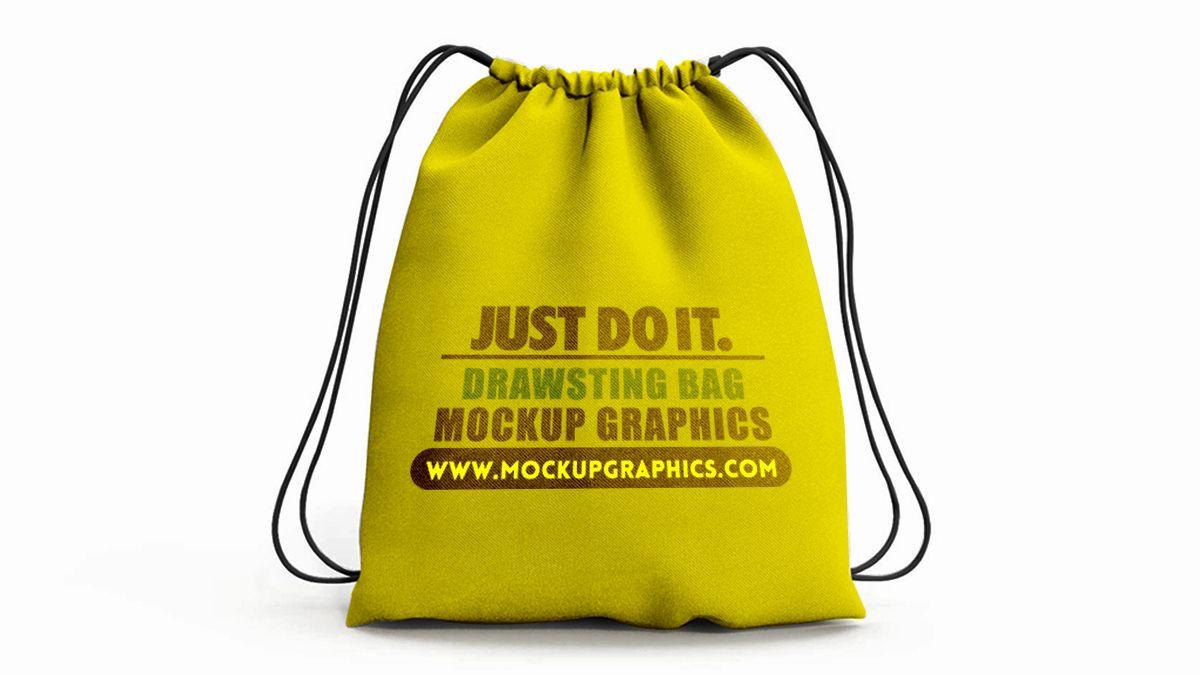 Download Free Drawstring Bag Mockup Bag Mockup Mockup Bags