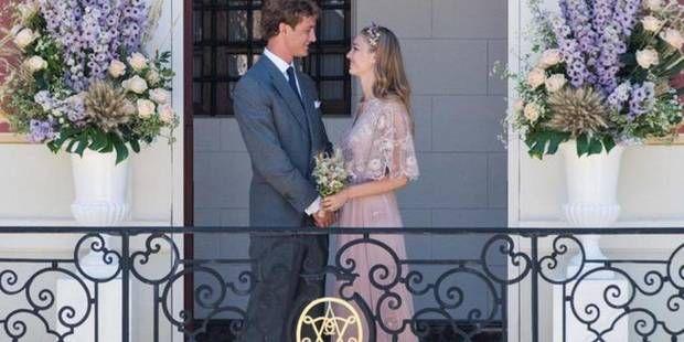 Pierre Casiraghi et Beatrice Borromeo : la mariée était en rose