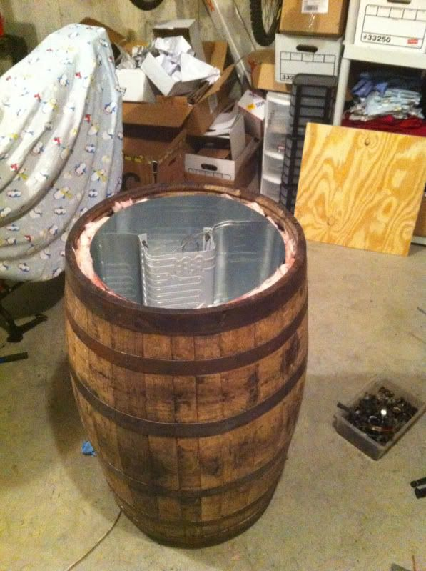 Whiskey Barrel Kegorator Home Brew Forums Backyard And